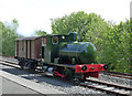 NS4408 : Fireless Locomotive at Waterside by Mary and Angus Hogg