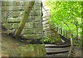 NT2373 : Steps up the Coltbridge Viaduct, Water of Leith by Jim Barton