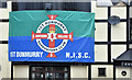 J2968 : Northern Ireland football flag, Dunmurry (June 2016) by Albert Bridge