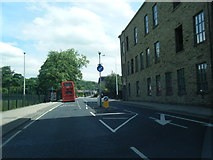 SD8122 : Bacup Road passing Rawtenstall Cricket Club by Colin Pyle