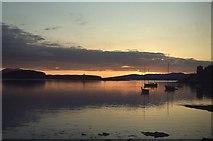 NM8529 : Oban Bay at Sunset by Peter Jeffery