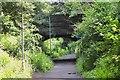 NT2476 : Granton Road bridge over cycleway by Jim Barton