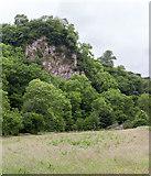 SK0955 : Ossoms Crag by Peter McDermott