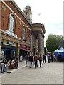 TL1998 : Peterborough Town Hall on Bridge Street by Geographer