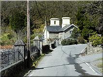 SN7874 : Hafod Lodge by David Dixon