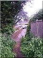 SZ0595 : West Howe: footpath U11 to High Howe Close by Chris Downer