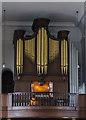 SK9872 : Organ, St Giles' church, Lincoln by Julian P Guffogg