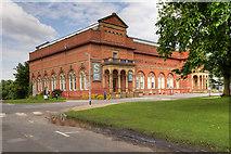 SJ8298 : Salford Museum and Art Gallery, Peel Park by David Dixon