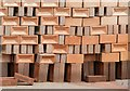 TL2497 : Stacked bricks by Alan Murray-Rust