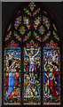 TG1022 : East window, St Mary's church, Reepham by Julian P Guffogg