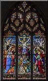 TG1022 : East window, St Mary's church, Reepham by Julian P Guffogg