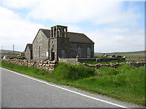 HP6108 : St John's church, Baltasound by David Purchase
