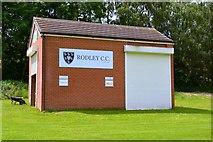 SE2236 : Rodley Cricket Club, Moss Bridge Road, Leeds by Mark Stevenson