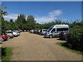 TF7543 : Car park at Titchwell RSPB reserve by Hugh Venables