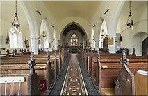 TG1022 : Interior, St Mary's church, Reepham by J.Hannan-Briggs