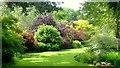 SO5867 : Burford House ornamental garden, 1 by Jonathan Billinger