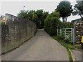 NY0736 : Narrow road, Dearham by Graham Robson