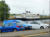 NS2975 : TS Queen Mary at James Watt Dock by Thomas Nugent