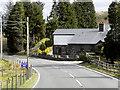 SN7280 : House on the A44, Llywernog by David Dixon