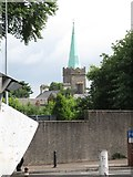 J0407 : The spire of St Nicholas Church, Dundalk by Eric Jones
