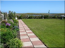HU5279 : The garden at Old Haa, Burravoe by David Purchase