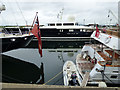 NS2975 : Super yachts at James Watt Dock Marina by Thomas Nugent