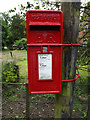 TL9383 : Old Post Office Cottage Postbox by Adrian Cable