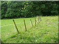 SE0929 : Diversion route for blocked footpath off Hill End Lane, Queensbury by Humphrey Bolton
