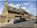TL2697 : North side of Market Street, Whittlesey by Robin Stott