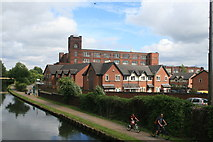 SJ6699 : Brooklands Mill, Leigh by Chris Allen