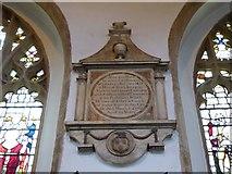 TL1998 : St John the Baptist, Peterborough: memorial (v) by Basher Eyre