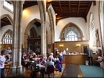 TL1998 : Inside St John the Baptist, Peterborough (vii) by Basher Eyre