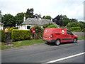 NT9342 : Elizabeth II postbox, Duddo by JThomas