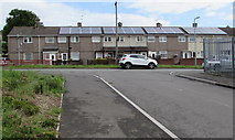 ST3487 : Rooftop solar panels, Penkin Hill, Alway, Newport by Jaggery