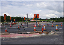 SD4964 : Junction of Caton Road and Heysham Link Road by Ian Taylor