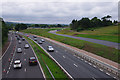 SD4965 : M6 south of Foundry Lane Bridge by Ian Taylor