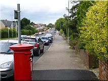 TL9927 : Mile End Road, Colchester by Robin Webster