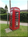 TL9780 : Telephone Box on Lodge Lane by Adrian Cable