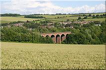 TQ5365 : Eynsford railway viaduct by David Kemp