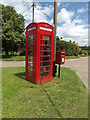 TL9780 : Telephone Box & The Street Postbox by Adrian Cable