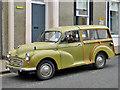 NT5434 : A vintage Morris Minor Traveller in Melrose High Street by Walter Baxter
