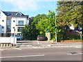 SZ0992 : Springbourne: footpath C13 from Wellington Road by Chris Downer