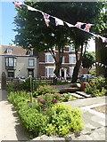 TR3752 : The Landmark Garden, High Street, Deal by pam fray