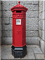 TQ3380 : Victorian Penfold Pillar Box, Tower Bridge, London by Christine Matthews