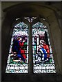 TF0904 : St Andrew, Ufford: stained glass window (VII) by Basher Eyre