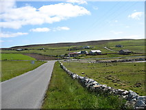 HU4941 : The lane to Voehead, Bressay by David Purchase