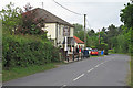 TM4187 : Cromwell Road near The Horseshoes, Ringsfield by Roger Jones
