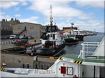 HU4741 : Lerwick harbour by David Purchase