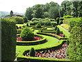 NY4523 : Garden at Rampsbeck Hotel by M J Richardson