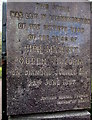 SS7597 : Queen Victoria Diamond Jubilee stone in Neath by Jaggery